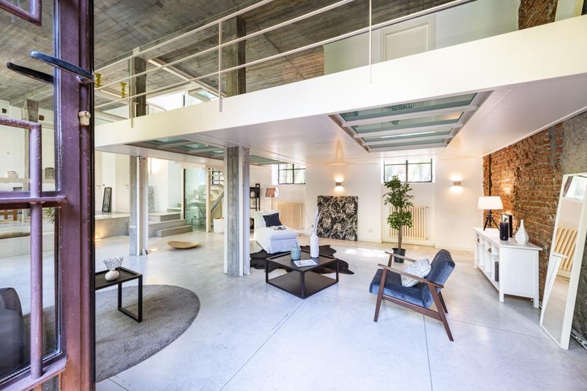 Loft a Milano Home Staging Karisma, vendita veloce per investitori, soppalco